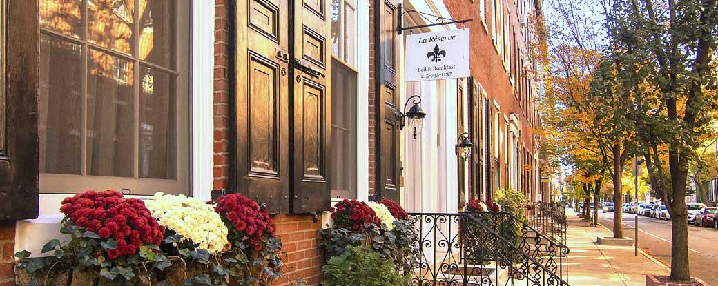 Philadelphia B&B - Rittenhouse Square | La Reserve Bed